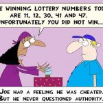 Lotto Numbers in Advance